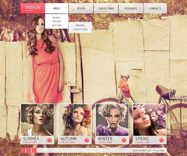 Best Fashion Responsive Template