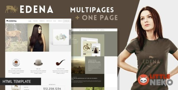 EDENA Creative & Multipurpose Bootstrap Template
