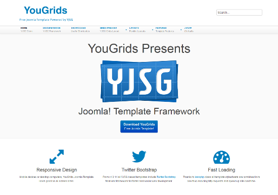 YouGrids For Joomla 1.6 Template