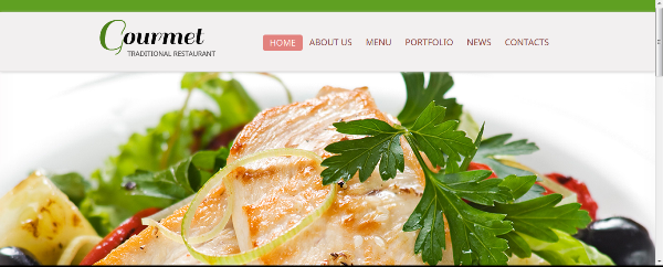 Free Foods HTML CSS3 Website Template with jQuery Slideshow