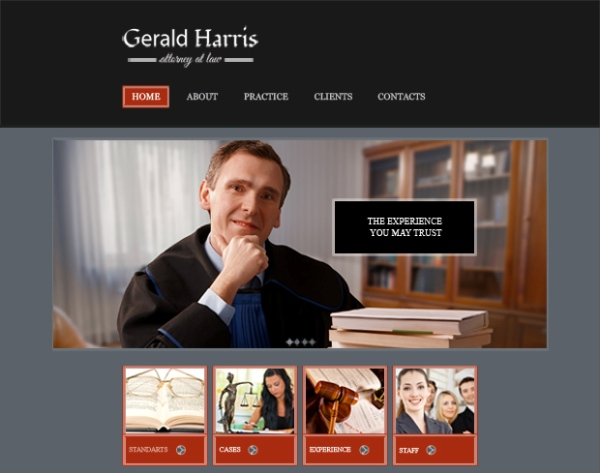 Law & Legal Website Template