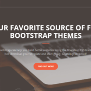 125+ Best Free Responsive Bootstrap Website Templates