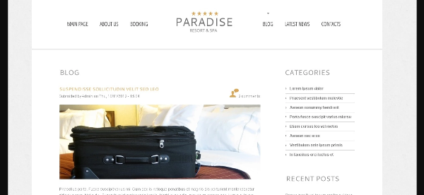15+ Best Free Hotel WordPress Themes 2017