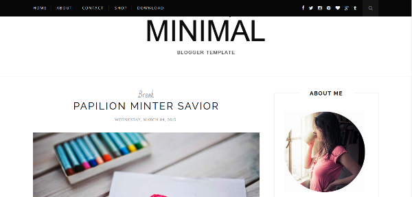150+ Best Free Blogger Templates for Bloggers