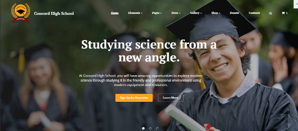 75+ Best Education Website Templates